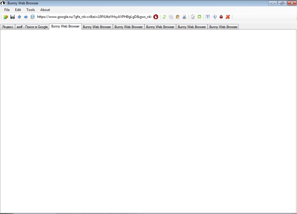Список все браузеры Bunny Web Browser