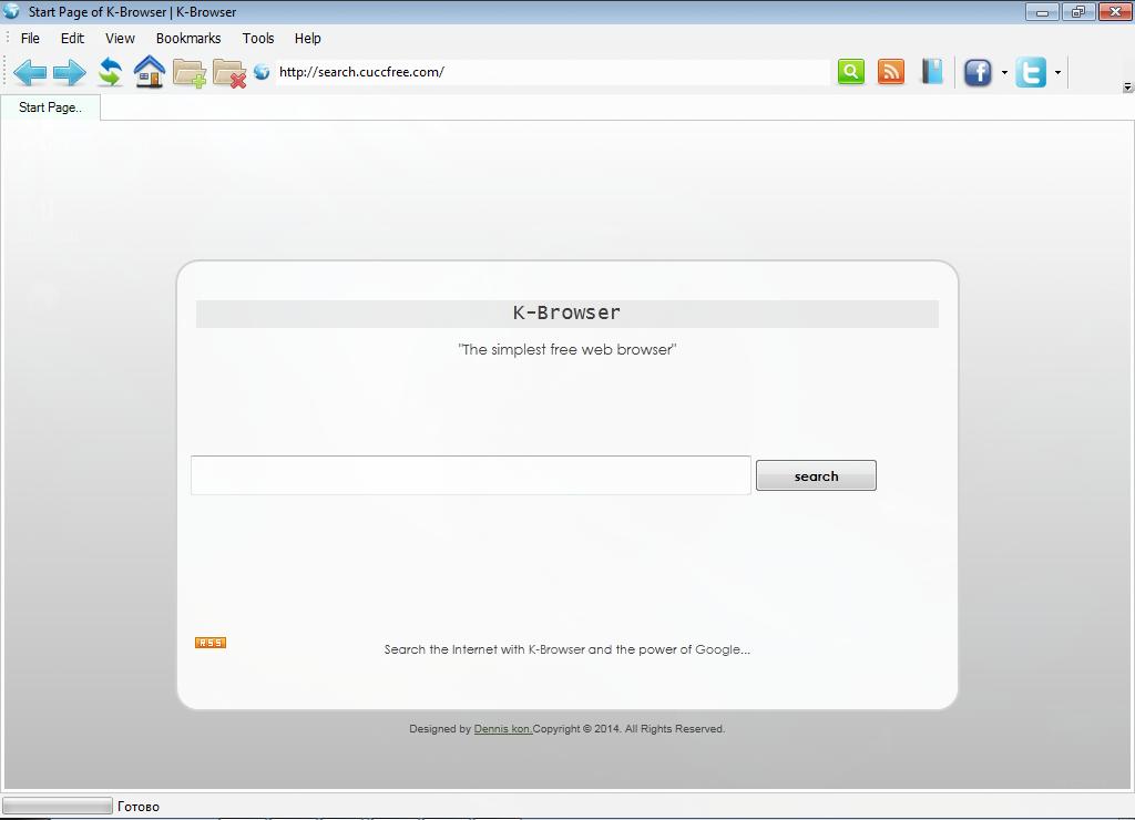 Список все браузеры k-Browser
