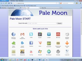Список все браузеры Pale Moon