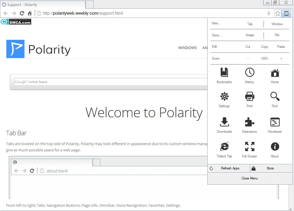 список все браузеры Polarity Browser