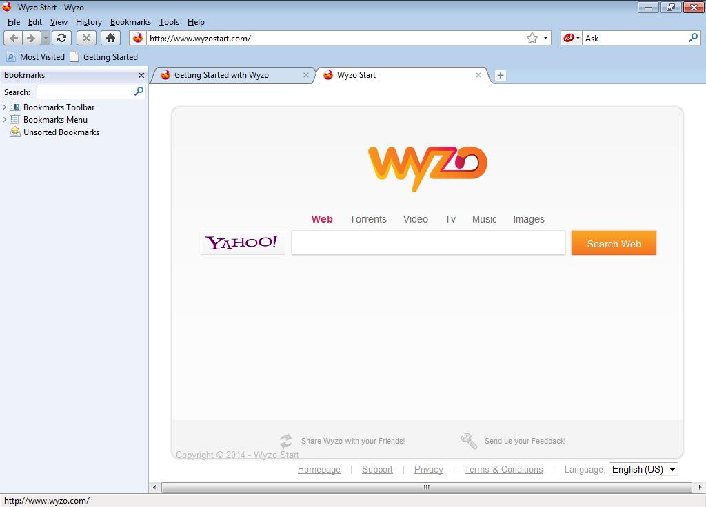 Список все браузеры wyzo browser