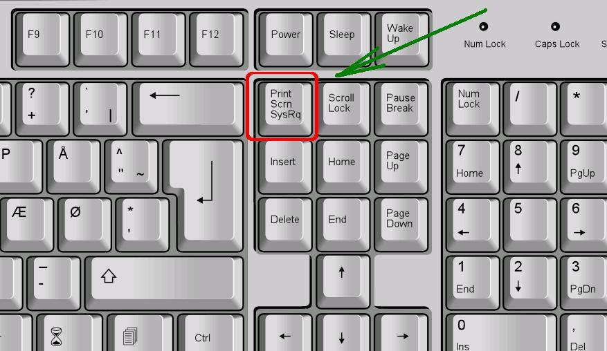 Клавиша на клавиатуре
