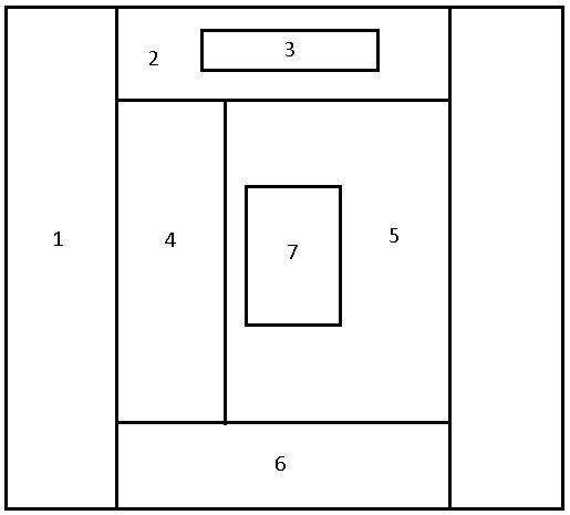 Структура блоков сайта