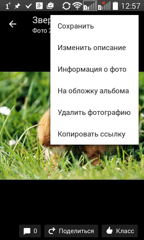 Удаление фотографий в мобильном приложении