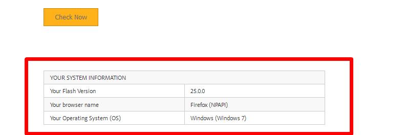 Информация о версии, название браузера и операционной системы