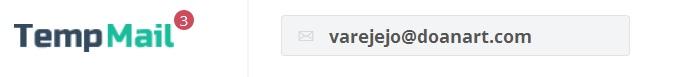 Создание временной почты на TempMail