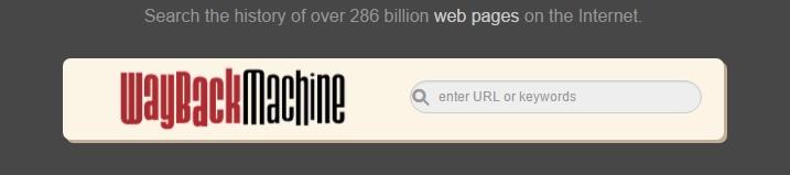 Веб-архив — история миллионов сайтов