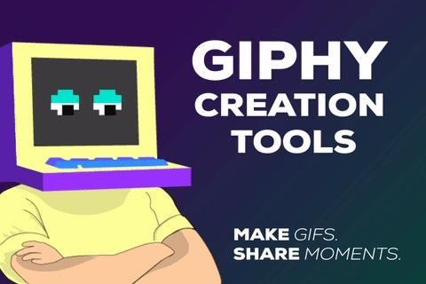 Интерфейс Giphy GIF Maker